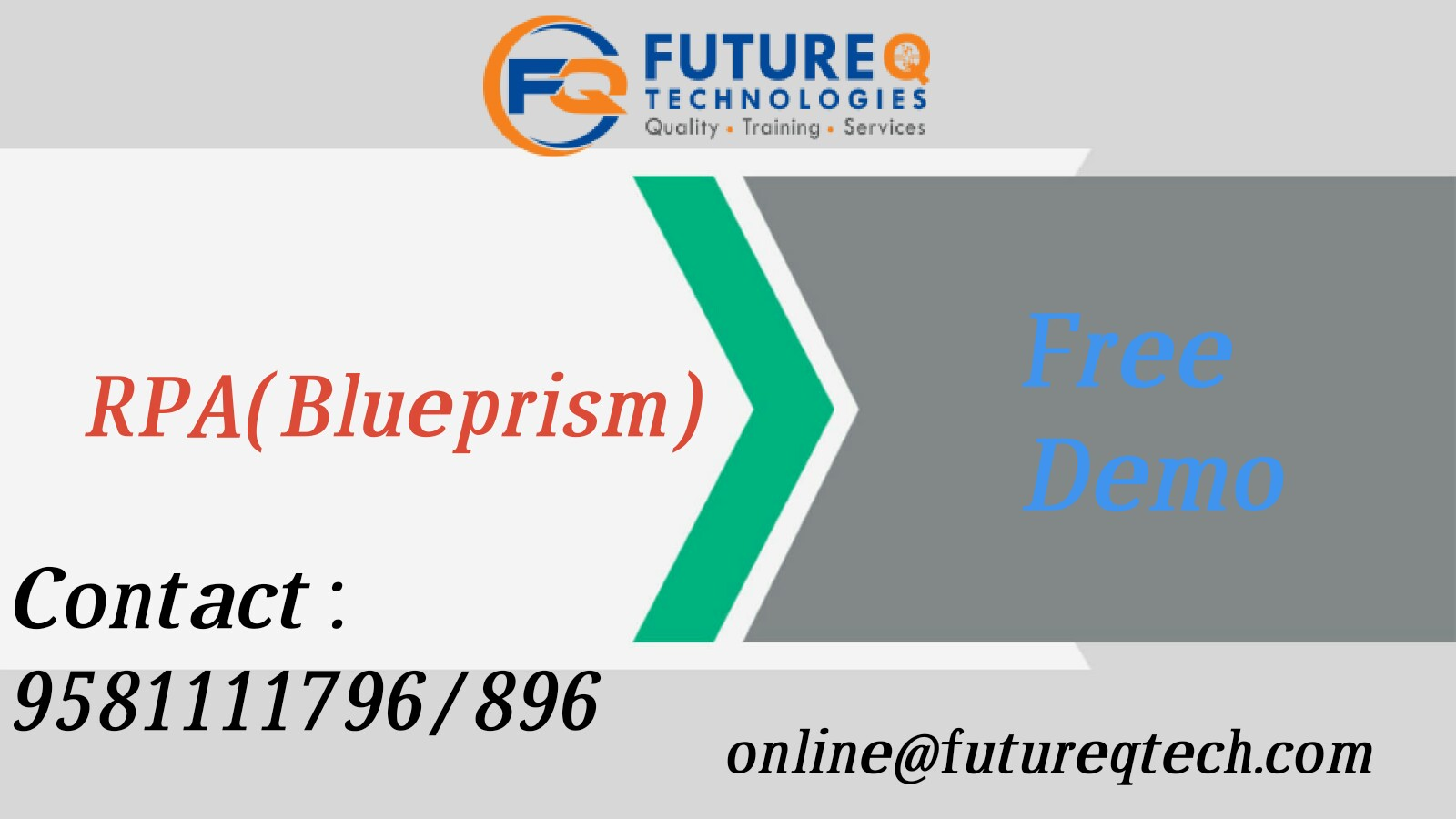 best RPA Online Training In Hyderabad Archives - Future Q