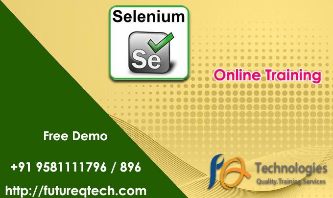 Selenium framework Online Training In US&UK Archives