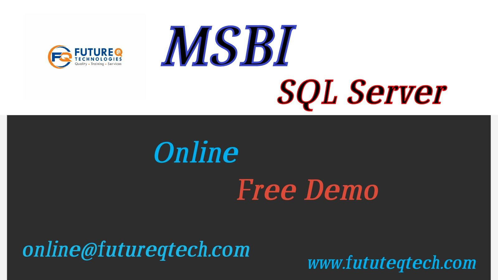 msbi interview question Archives - Future Q Technologies
